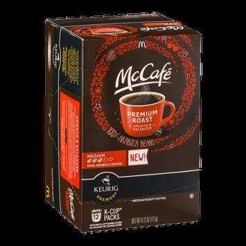 McCafe 100% Arabica Coffee Medium K-Cup Packs - 12 CT
