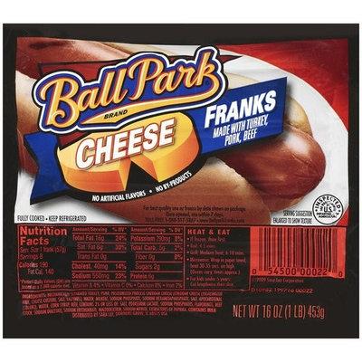 Ball Park Cheese Franks, 16 oz