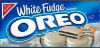 Oreo White Fudge Sandwich Cookies