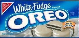 Oreo White Fudge Sandwich Cookies