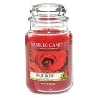 Yankee Candle Large true rose housewarmer candle