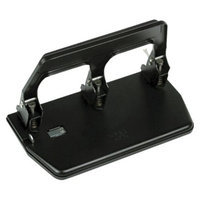 Master 40-Sheet Heavy-Duty Three-Hole Punch, 9/32