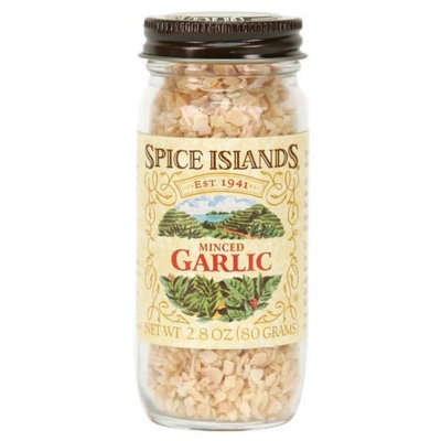 Spice Islands Garlic Minced, 2.8-Ounce (Pack of 3)