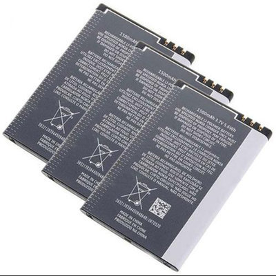 Battery for Nokia BP-4L (3-Pack) Replacement Battery