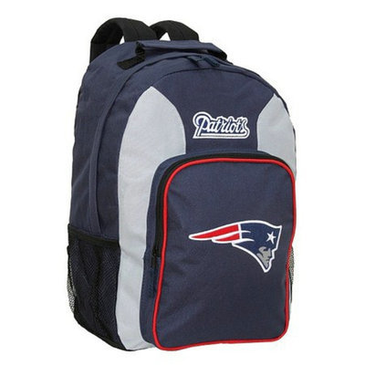 Concept One NFL New England Patriots Southpaw Team Color Backpack - School Supplies