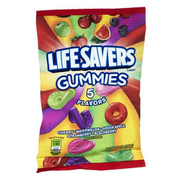 Life Savers Gummies 5 Flavors Candy Variety Pack