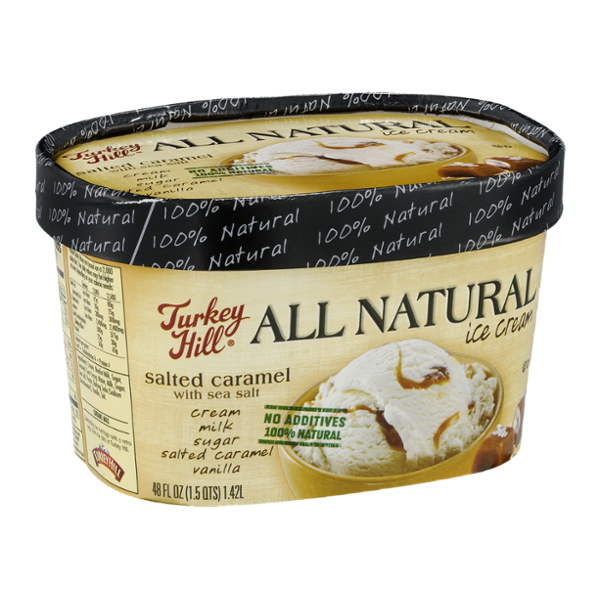Turkey Hill All Natural Ice Cream Salted Caramel