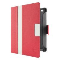 Belkin Folio Case for iPad 3 Cinema Stripe - Pink/White (F8N753ttC02)