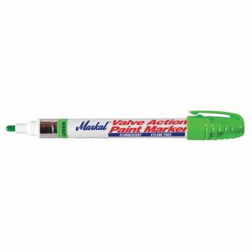 MARKAL 97051G Paint Marker, Fluorescent Green
