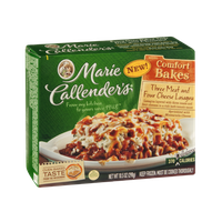 Marie Callender's Comfort Bakes Lasagna Three Meat & Four Cheese