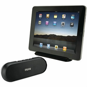 iHome Ipad Iphone Ipod Rechargeable Portable Bluetooth Speaker System