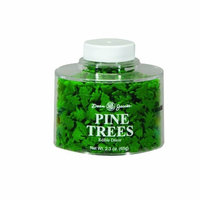 Dean Jacob's Dean Jacobs Trees Stacking Jar, 2.3-Ounce (Pack of 6)