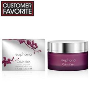 Calvin Klein euphoria Body Cream, 4 oz