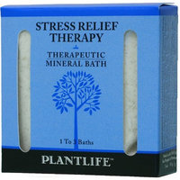 Plantlife Stress Relief Therapeutic Mineral Bath Salt - 3oz