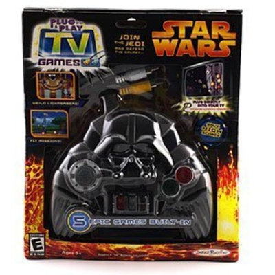 Jakks Pacific Star Wars Episode III - Plug it in and Play Video Game (Darth Vader Controller)