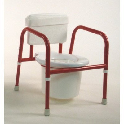TFI Pediatric Commode Color: Red