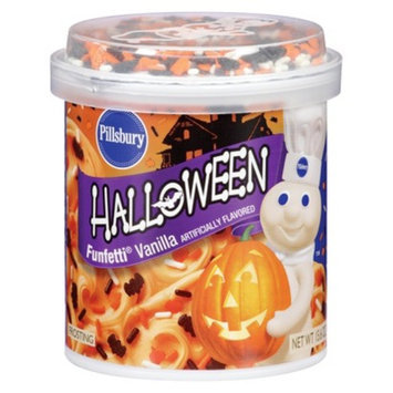 Smucker's Pillsbury Halloween Funfetti Vanilla Frosting 15.6 oz
