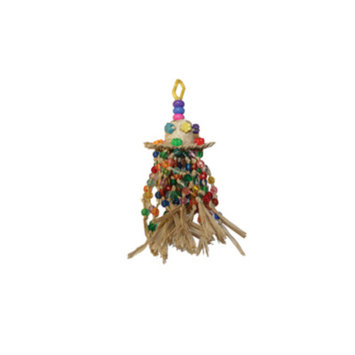 All Living ThingsA Bead Skirt Bird Toy