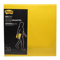 Post-it Big Pad, Yellow, 1 ea