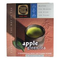 Yamamotoyama Apple Green Tea Pyramid Bag, 0.71-Ounce Boxes (Pack of 3)