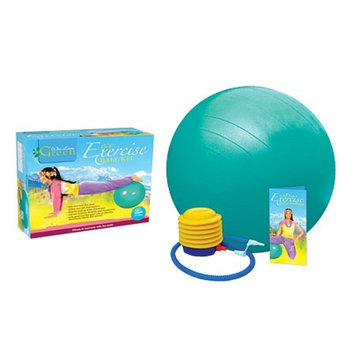 Wai Lana Eco Exercise Ball Kit with Poster