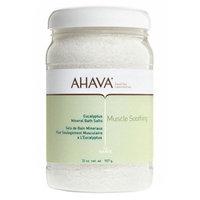 AHAVA Muscle Soothing Mineral Bath Salts, Eucalyptus, 32 oz.