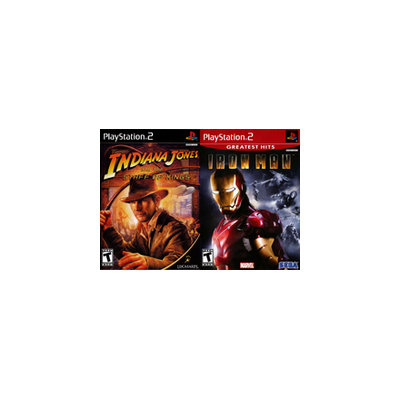 Indiana Jones Staff of Kings and Iron Man GH 2Pack