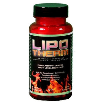 ALR Industries Lipotherm Diet Supplement Caplets, 90 Count