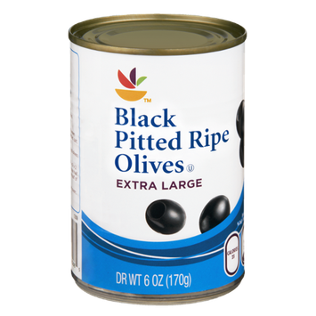 Ahold Extra Large Black Pitted Ripe Olives
