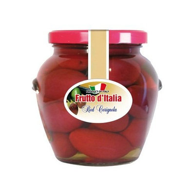 Frutto d'Italia Red Cerignola Olives - 13 oz