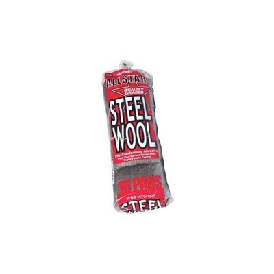 Buff Shine Steel Wool Pads -Fine # 00 (Pack of 16)