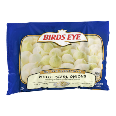 Birds Eye Deluxe Vegetables White Pearl Onions
