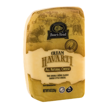 Boar's Head Cream Havarti All Natural Cheese