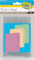 Provo Craft 37-1170 Cuttlebug Embossing Folder Border Set 5/Pkg