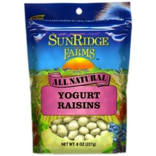 Sunridge Farms Yogurt Covered Raisins, 10--Ounce (Pack of 2)