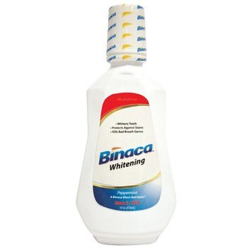 Binaca Whitening Pre-Brush Rinse