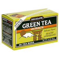 Bigelow All Natural Green Tea With Peach