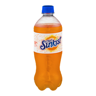 Sunkist Diet Orange Soda