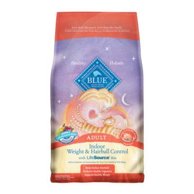 Blue Buffalo BLUETM Indoor Hairball & Weight Control Adult Cat Food