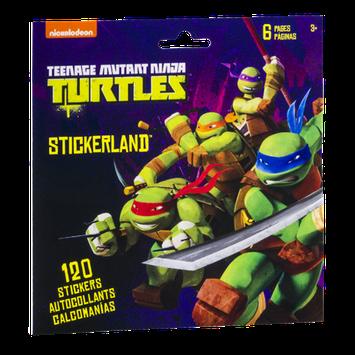 Stickerland Stickers Nickelodeon Teenage Mutant Ninja Turtles - 120 CT