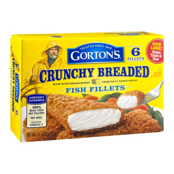 Gorton's Crunchy Breaded Fish Fillets - 6 CT