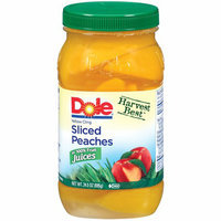 Dole Sliced Yellow Cling Peaches In Light Syrup