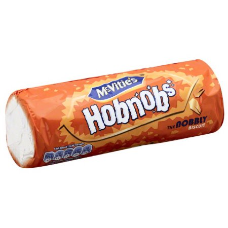 Mcvities McVitie's Hobnobs The Nobbly Biscuit, 10.5 oz, (Pack of 12)