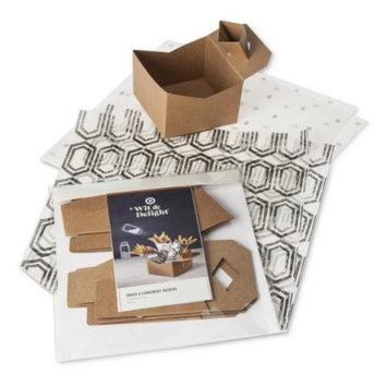 Wit & Delight Paper Snack/Condiment Dish Set 4ct