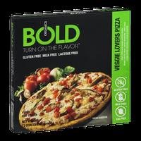 Bold Organics Gluten Free Pizza Veggie Lovers