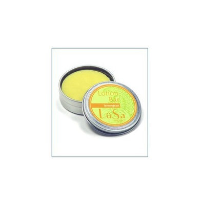 Lusa Organics Lemongrass Lotion Bar - Handcrafted with All Natural and Certified Organic Ingredients - 1.55 ounces