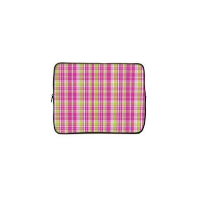 Designer Sleeves 10GS2P-PGP 10 inch Tablet & Ipad Case - Pink & Green Plaid