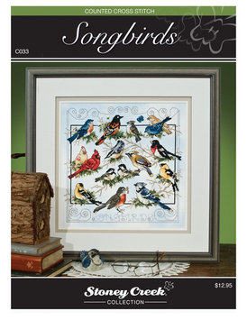 Stoney Creek 403239 Stoney Creek Chart Packs-Songbirds