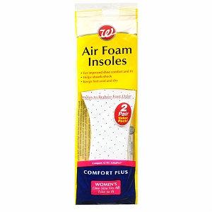 Walgreens Air Foam Insoles Women's