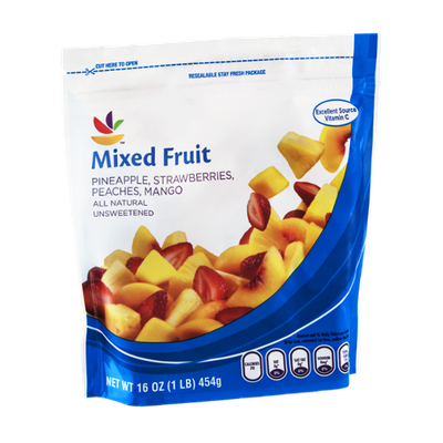 Ahold Mixed Fruit Unsweetened Natural